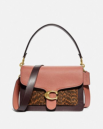2669853b7 TABBY SHOULDER BAG IN COLORBLOCK WITH SNAKESKIN DETAIL ...