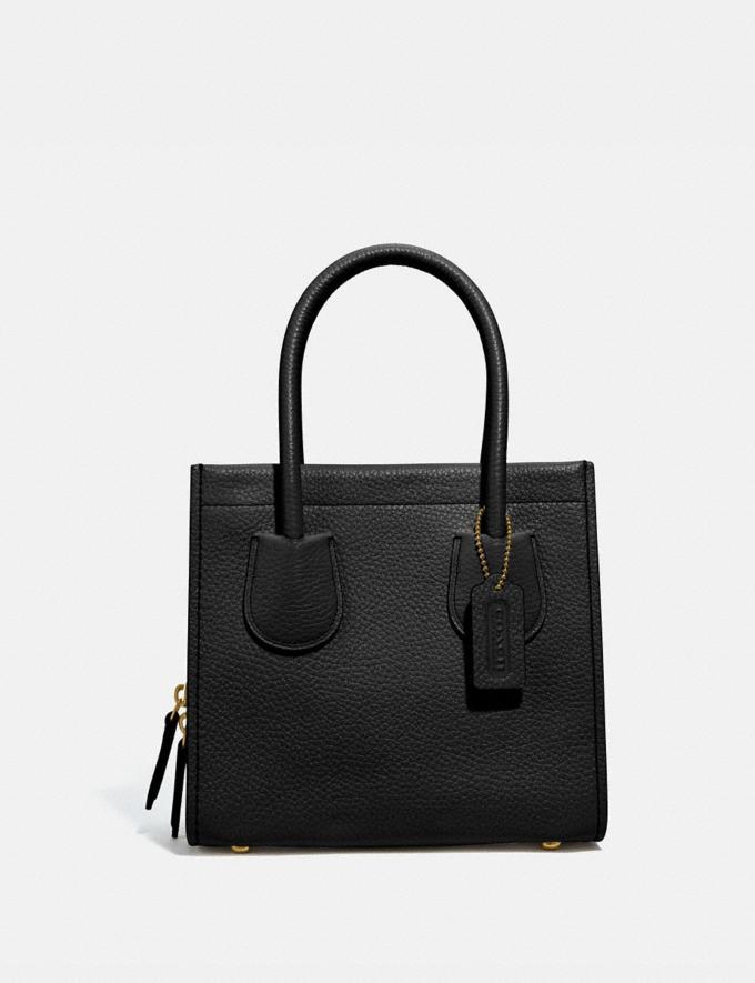 Coach Cashin Carry Tote 22 B4/Black Women Bags Totes