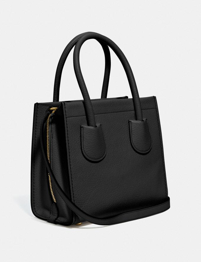Coach Cashin Carry Tote 22 B4/Black Women Bags Totes Alternate View 1