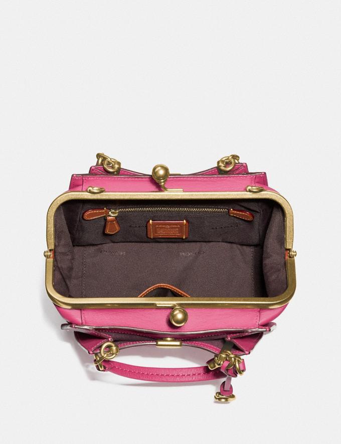 Coach Kisslock Dreamer 21 Bright Cherry/Brass Women Bags Alternate View 2