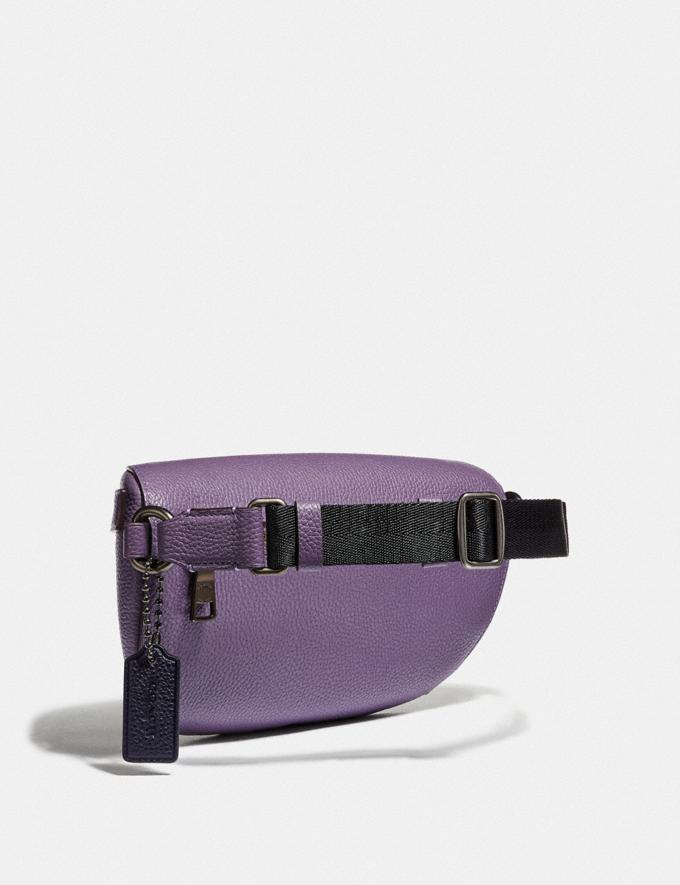 Coach Belt Bag With Rexy by Zhu Jingyi Dusty Lavender/Pewter Women Bags Belt Bags Alternate View 1