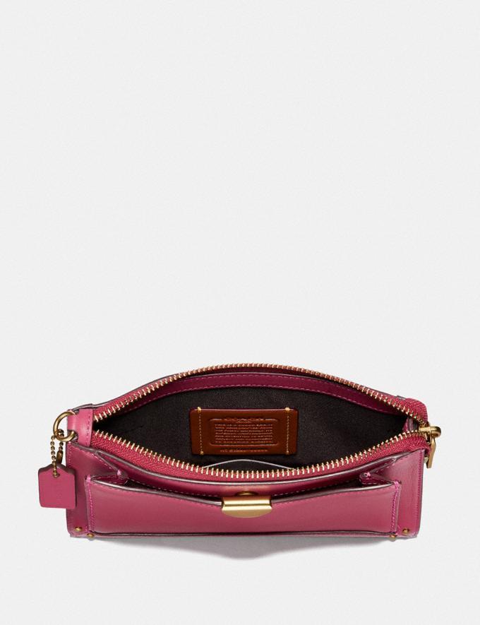 Coach Dreamer Wristlet Bright Cherry/Brass New Women's New Arrivals Wallets & Wristlets Alternate View 1