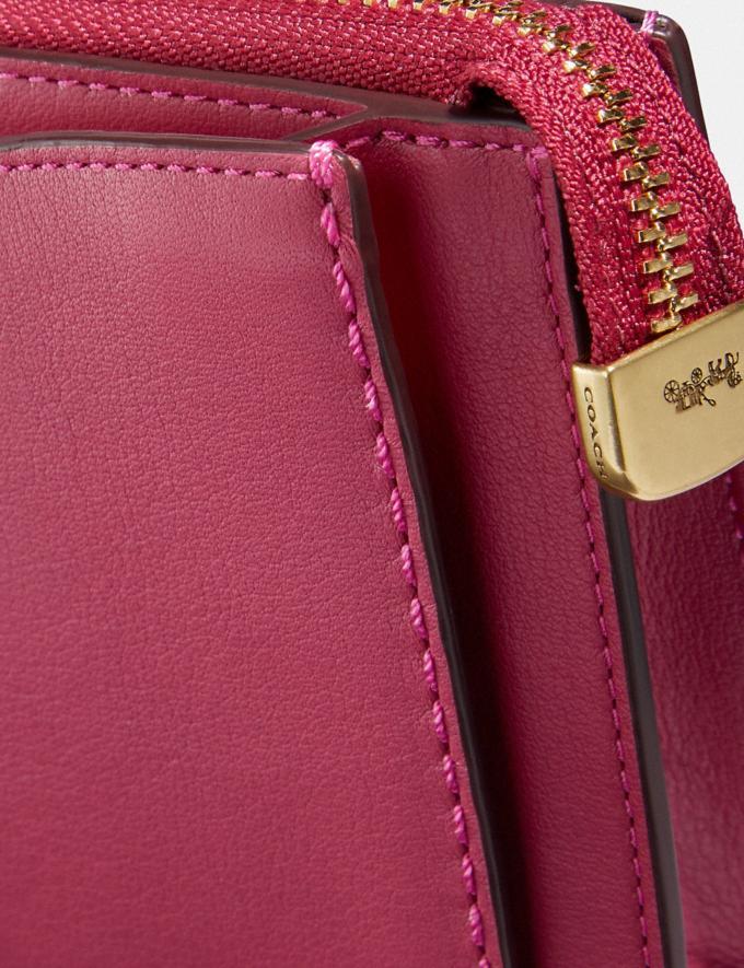 Coach Dreamer Wristlet Bright Cherry/Brass New Women's New Arrivals Wallets & Wristlets Alternate View 3
