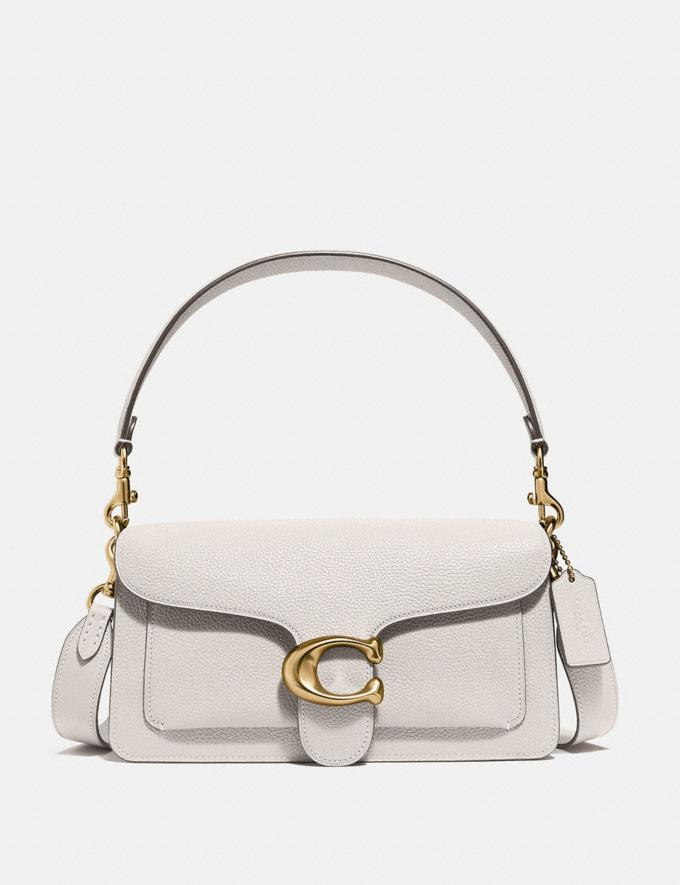 Coach Tabby Shoulder Bag 26 Brass/Chalk New Featured Coach x J.Lo