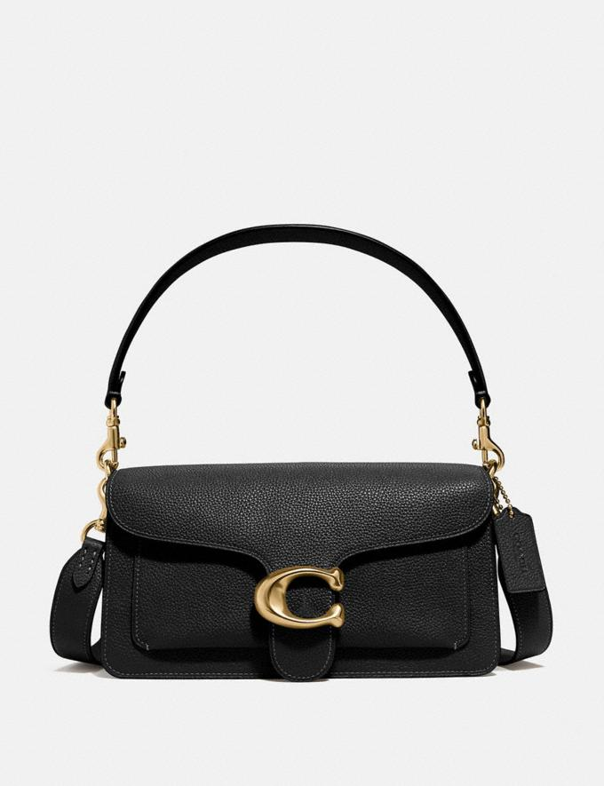 Coach Tabby Shoulder Bag 26 Brass/Black Gifts For Her Bestsellers