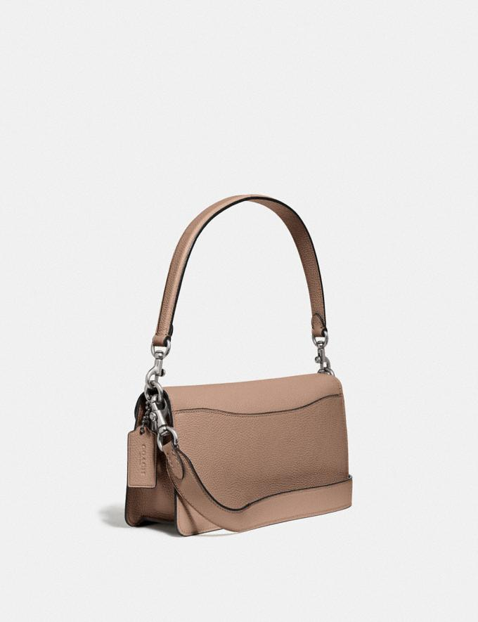 Coach Tabby Shoulder Bag 26 Light Antique Nickel/Taupe New Featured Coach X J.Lo Alternate View 1