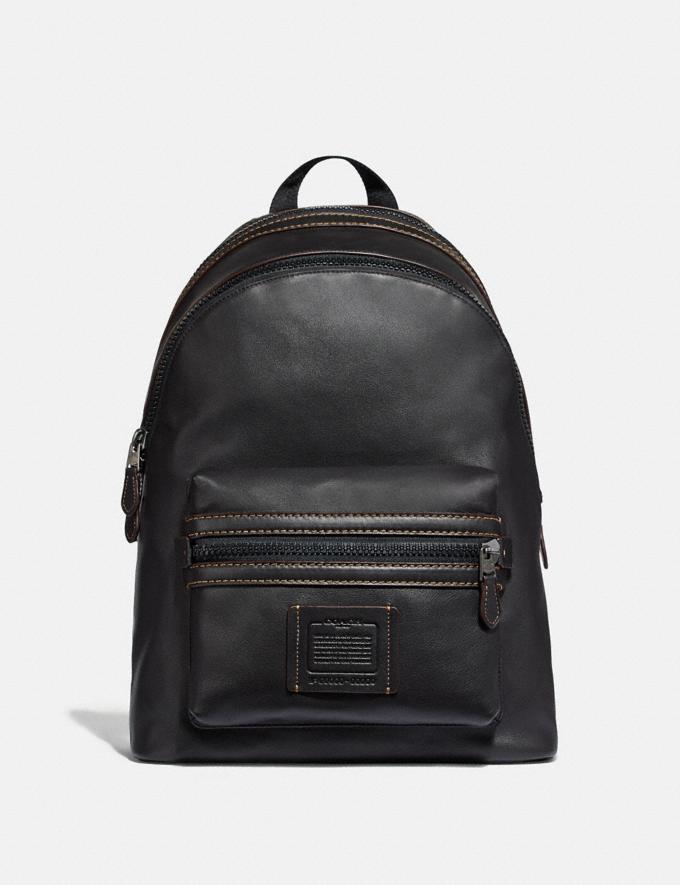 Coach Academy Backpack Ji/Black Cyber Monday Pour lui Trouvailles du Cyber Monday