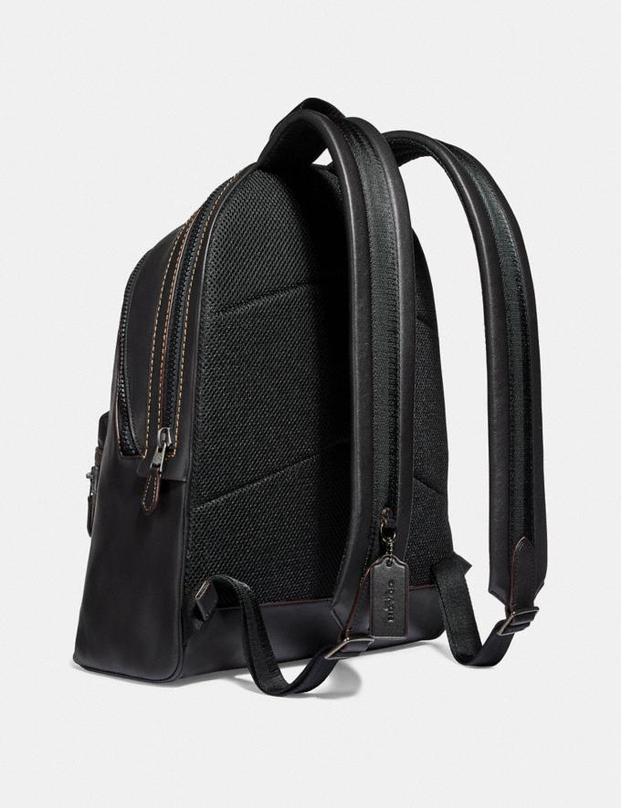 Coach Academy Backpack Ji/Black Cyber Monday For Him Cyber Monday Sale Alternate View 1