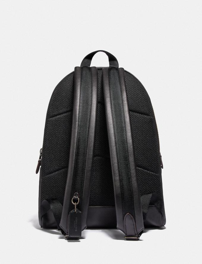 Coach Academy Backpack Ji/Black Men Bags Backpacks Alternate View 2