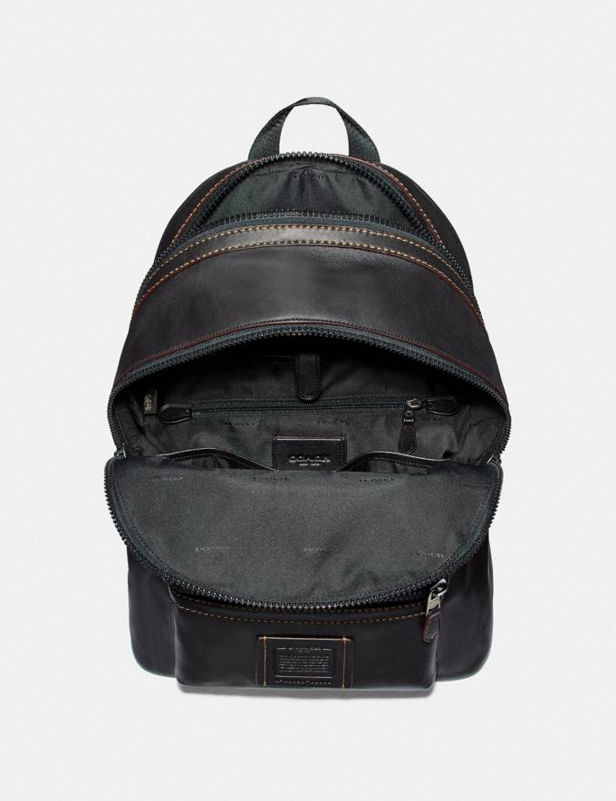 Coach Academy Backpack Ji/Black Cyber Monday For Him Cyber Monday Sale Alternate View 3