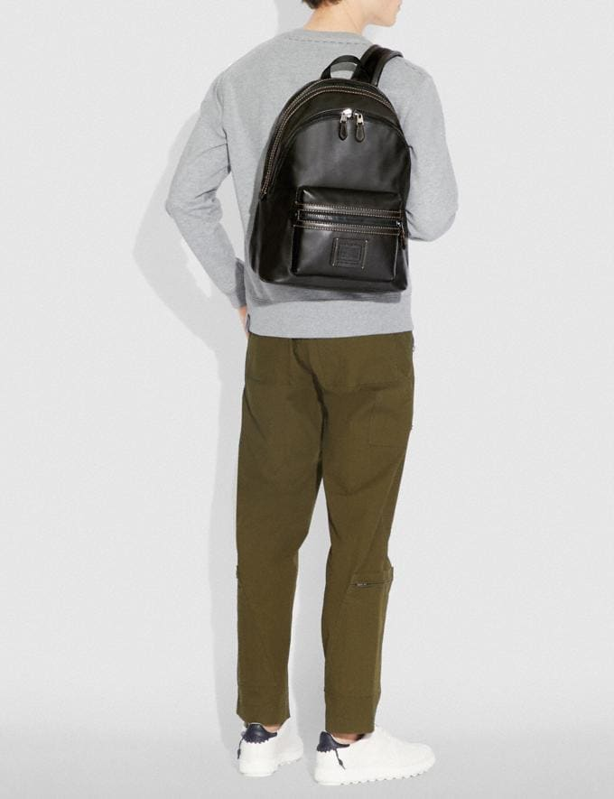 Coach Academy Backpack Ji/Black Cyber Monday For Him Cyber Monday Sale Alternate View 4
