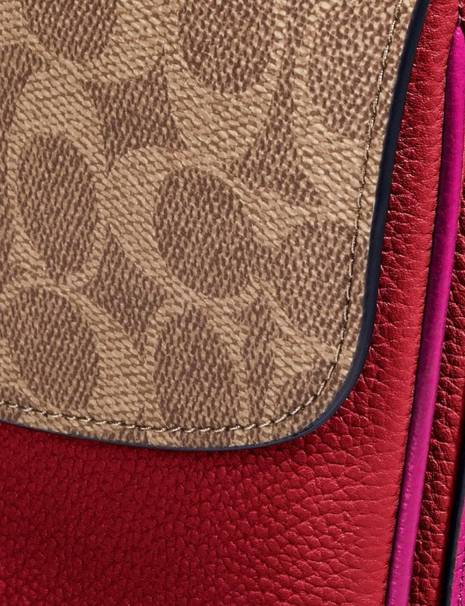Coach Cassie UmhÄNgetasche Aus Charakteristischem Colourblock-Canvas Rot Cyber Monday Für Sie Cyber Monday Sale Alternative Ansicht 5
