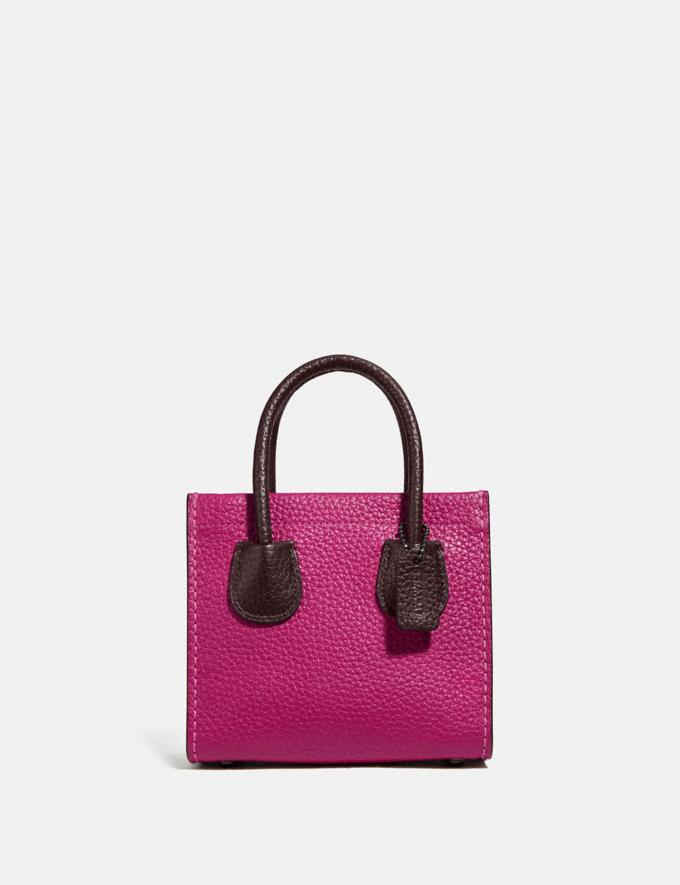 Coach Cashin Carry Tote 14 in Colorblock V5/Cerise Multi Women Handbags Satchels & Top Handles