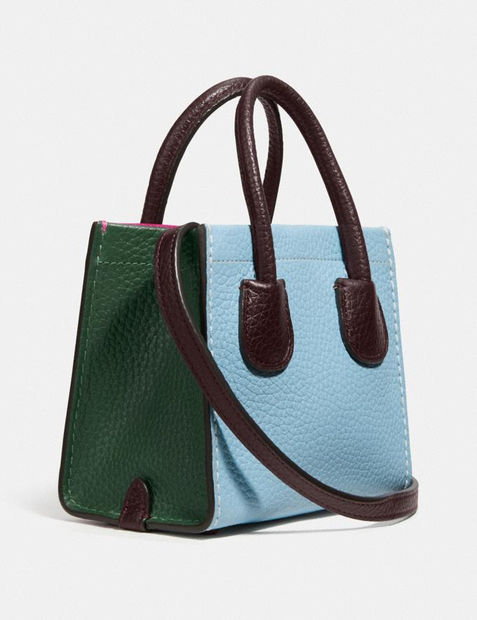 Coach Cashin Carry Tote 14 in Colourblock V5/Kirschrot Multi Damen Taschen Totes Alternative Ansicht 1