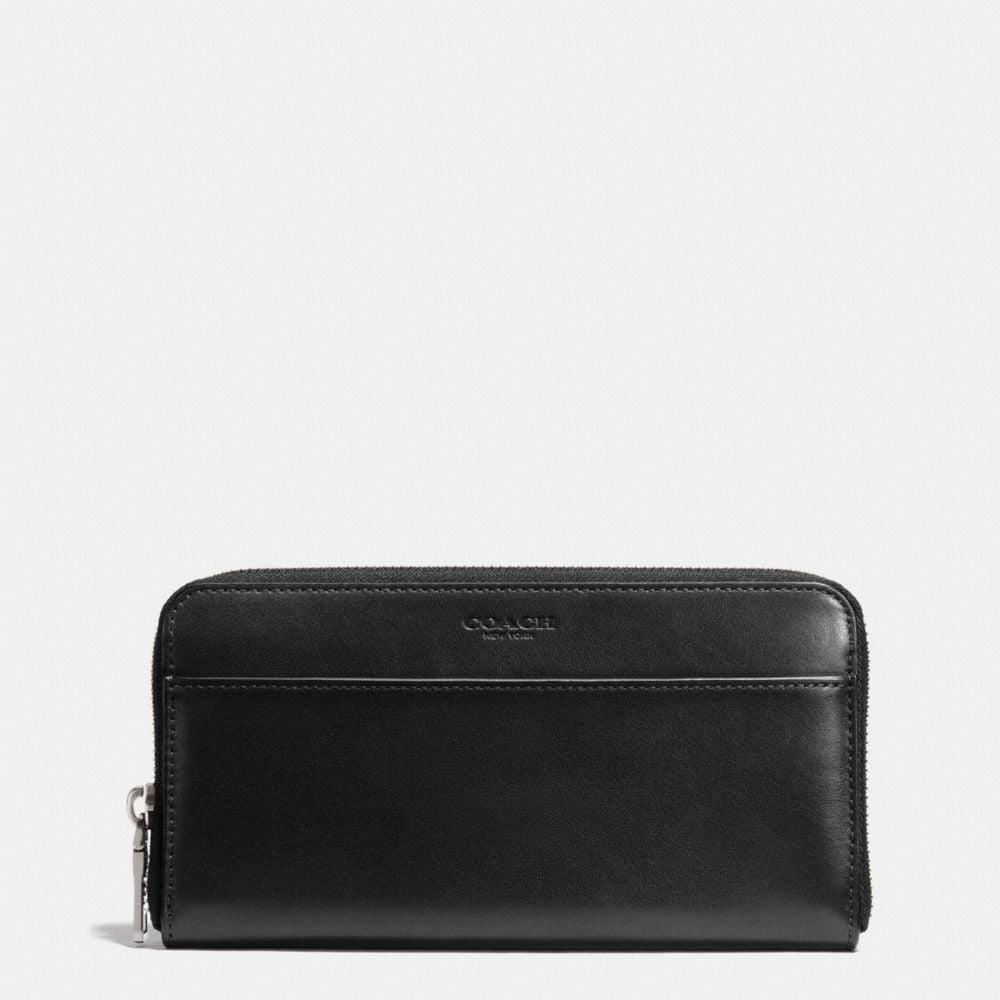 ACCORDION ZIP WALLET IN SPORT CALF LEATHER