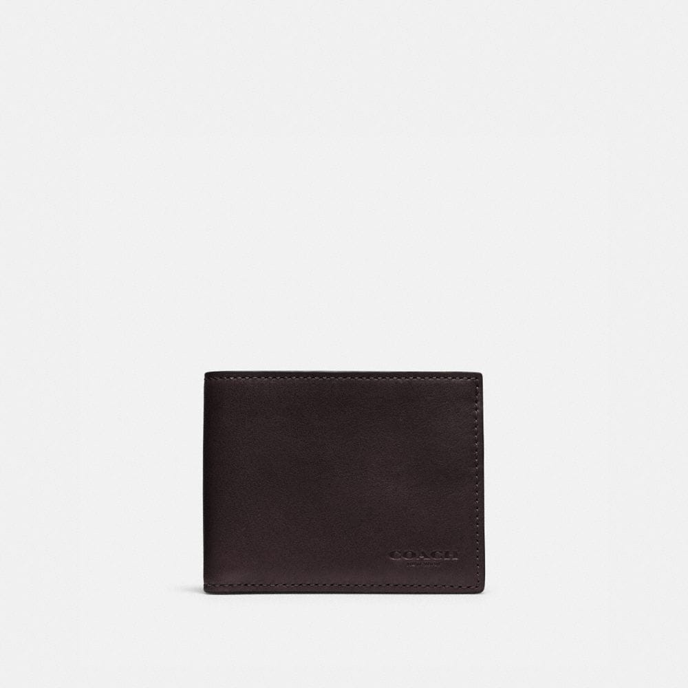 Coach Slim Billfold Id Wallet