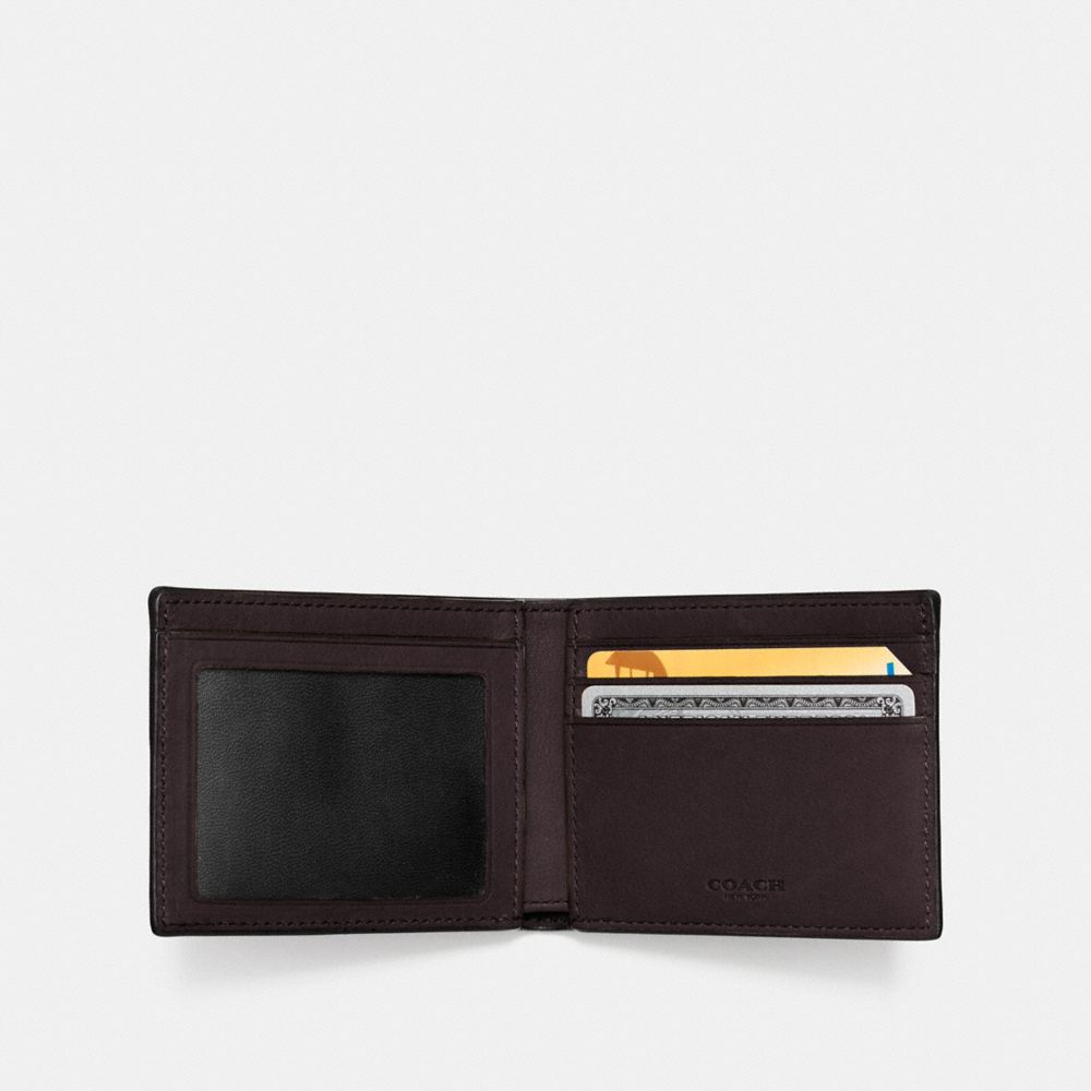 Coach Slim Billfold Id Wallet Alternate View 1
