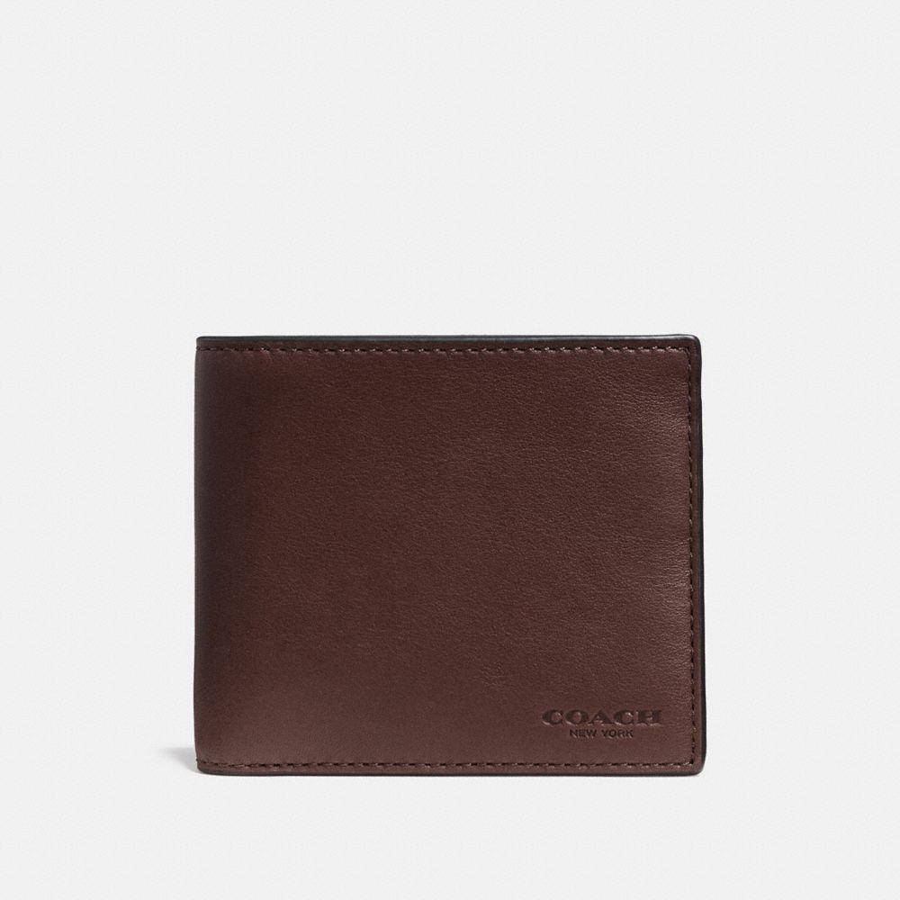 Double Billfold Wallet in Sport Calf Leather