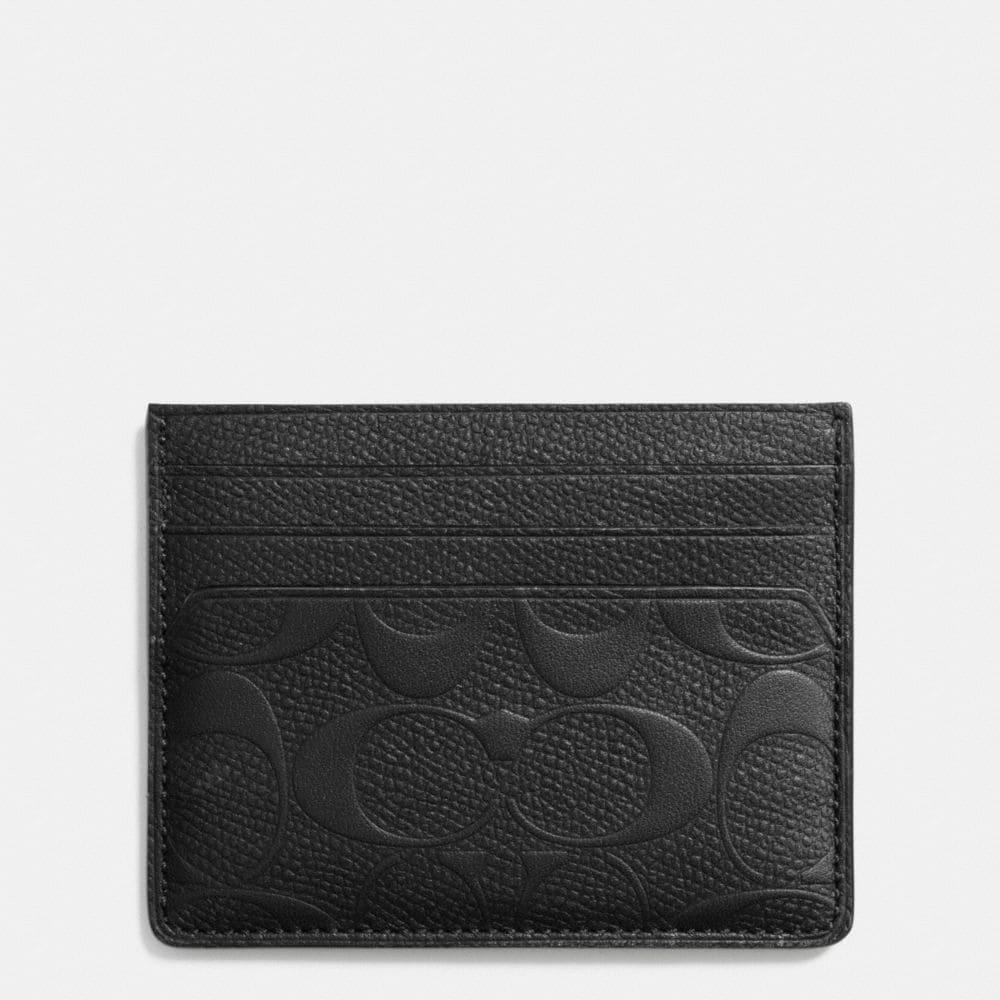 Card Case in Signature Crossgrain Leather