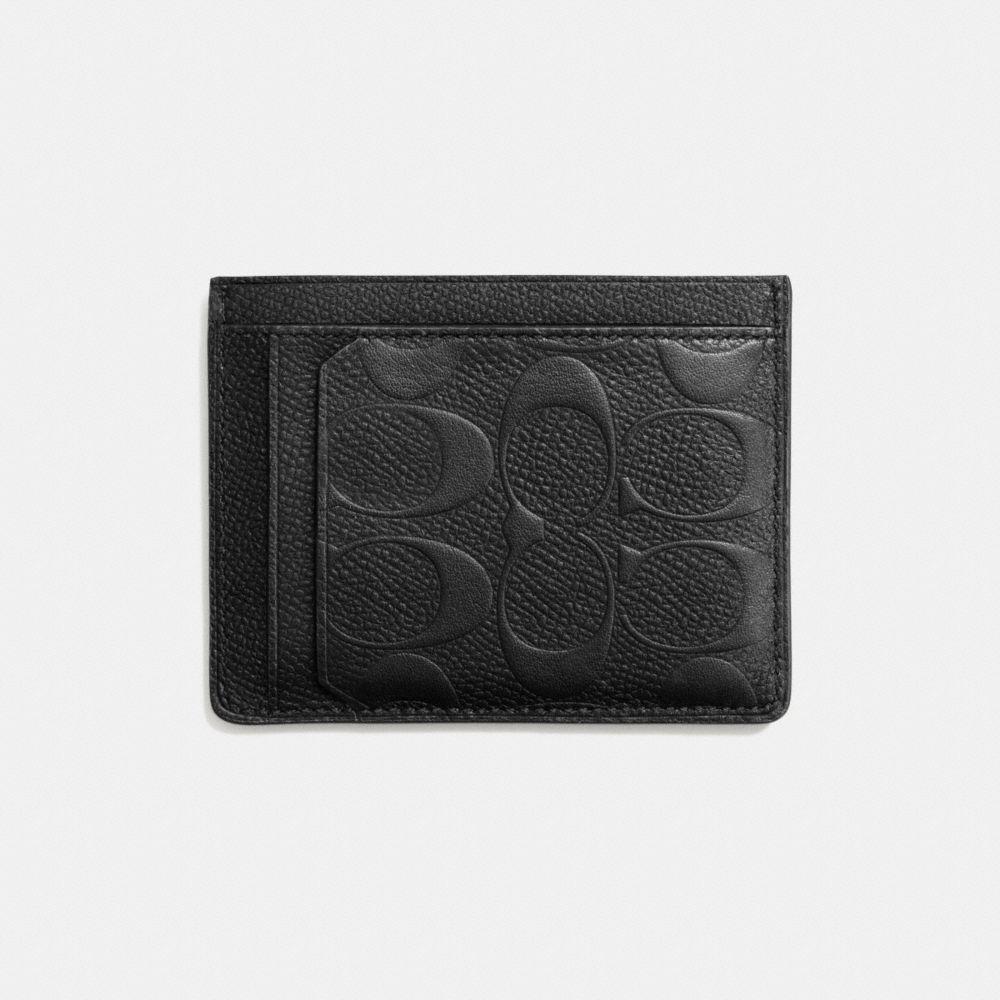 Card Case in Signature Crossgrain Leather - Alternate View L1
