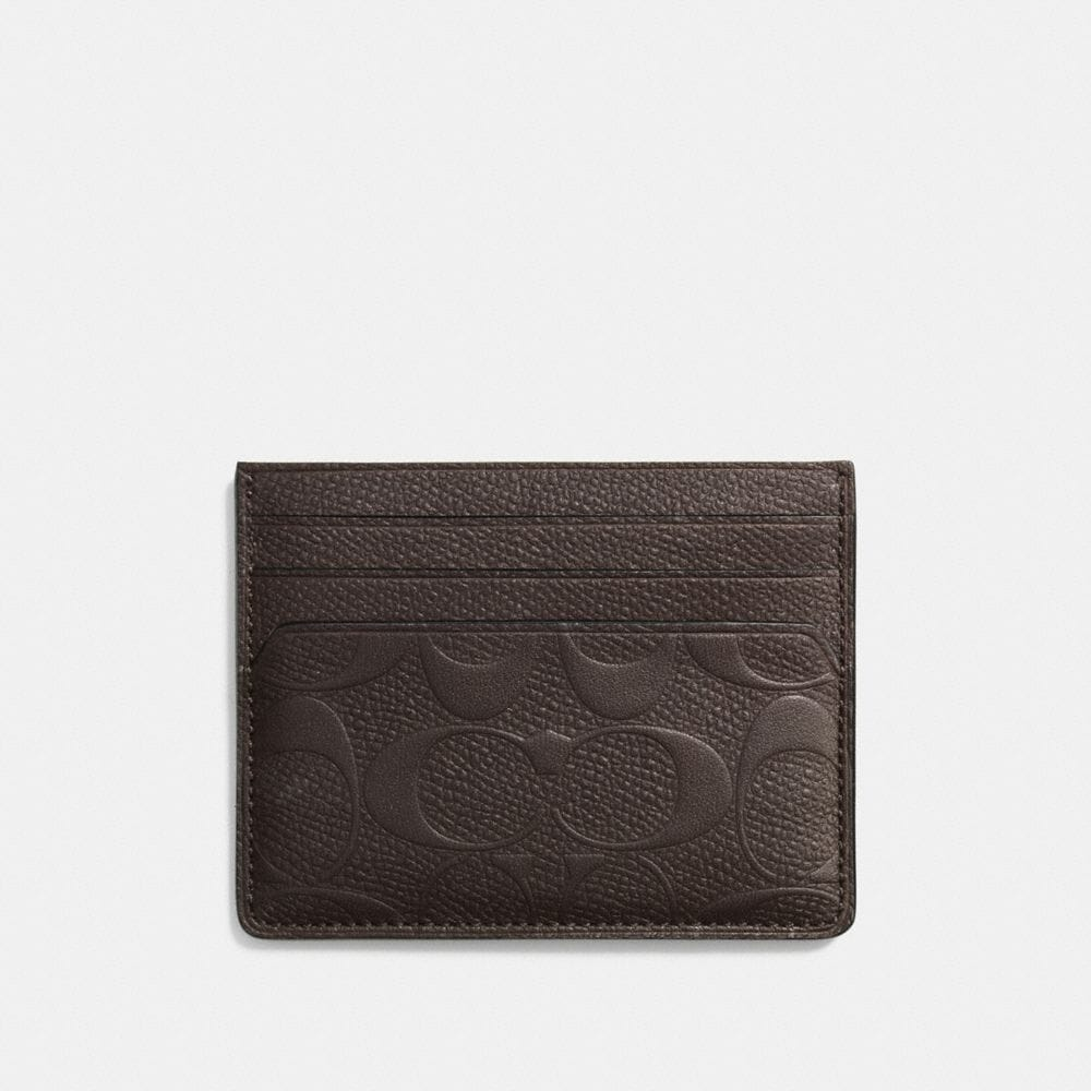 Card Case in Signature Crossgrain Leather