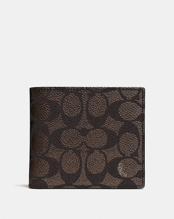 Coach Multifunctional Wallet In Signature Canvas Coach aoaA4a