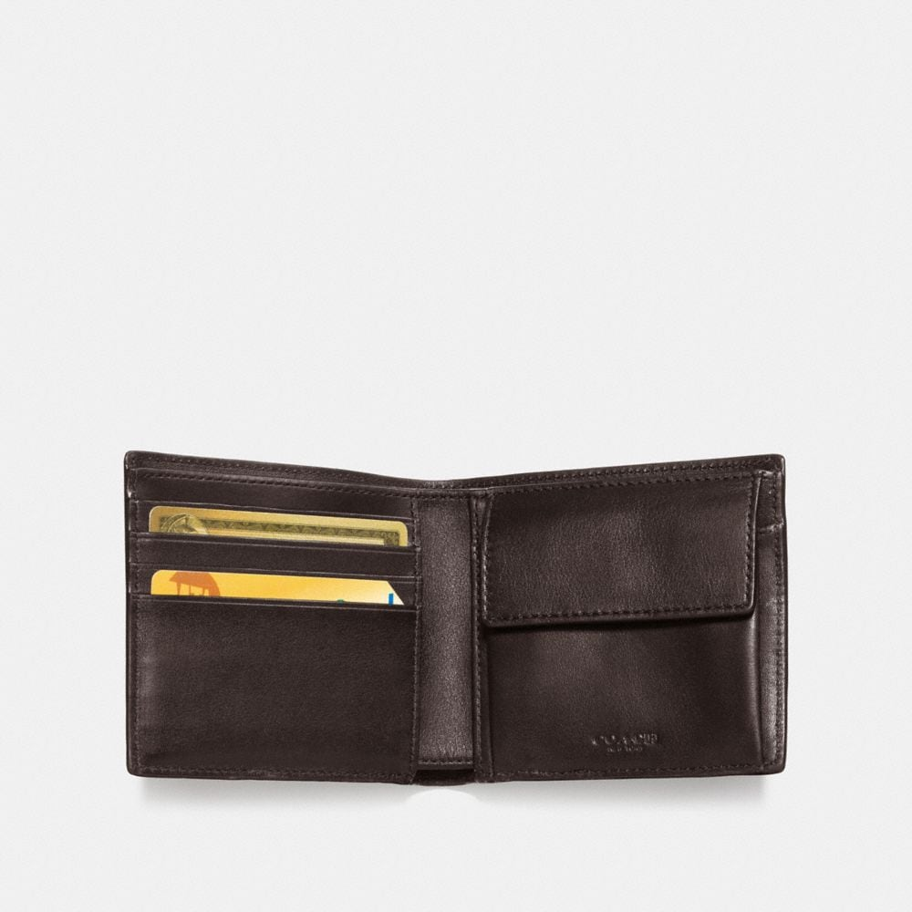 Coach Coin Wallet in Signature Canvas Alternate View 1