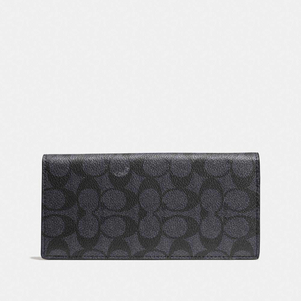 Coach Breast Pocket Wallet in Signature Canvas