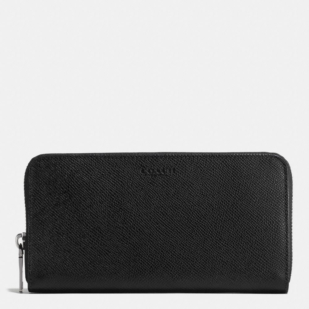 Accordion Wallet in Crossgrain Leather