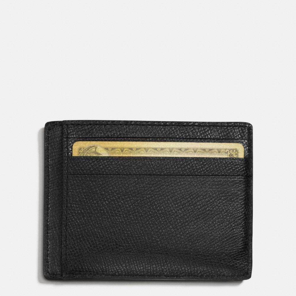 Card Case in Crossgrain Leather - Alternate View L1