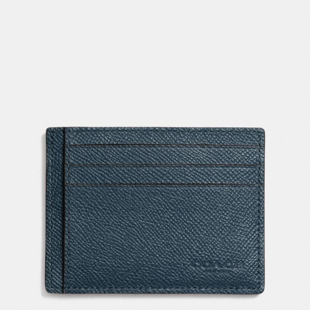 Card Case in Crossgrain Leather