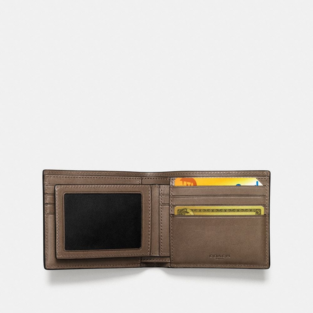Coach Rip and Repair Compact Id Wallet Alternate View 2