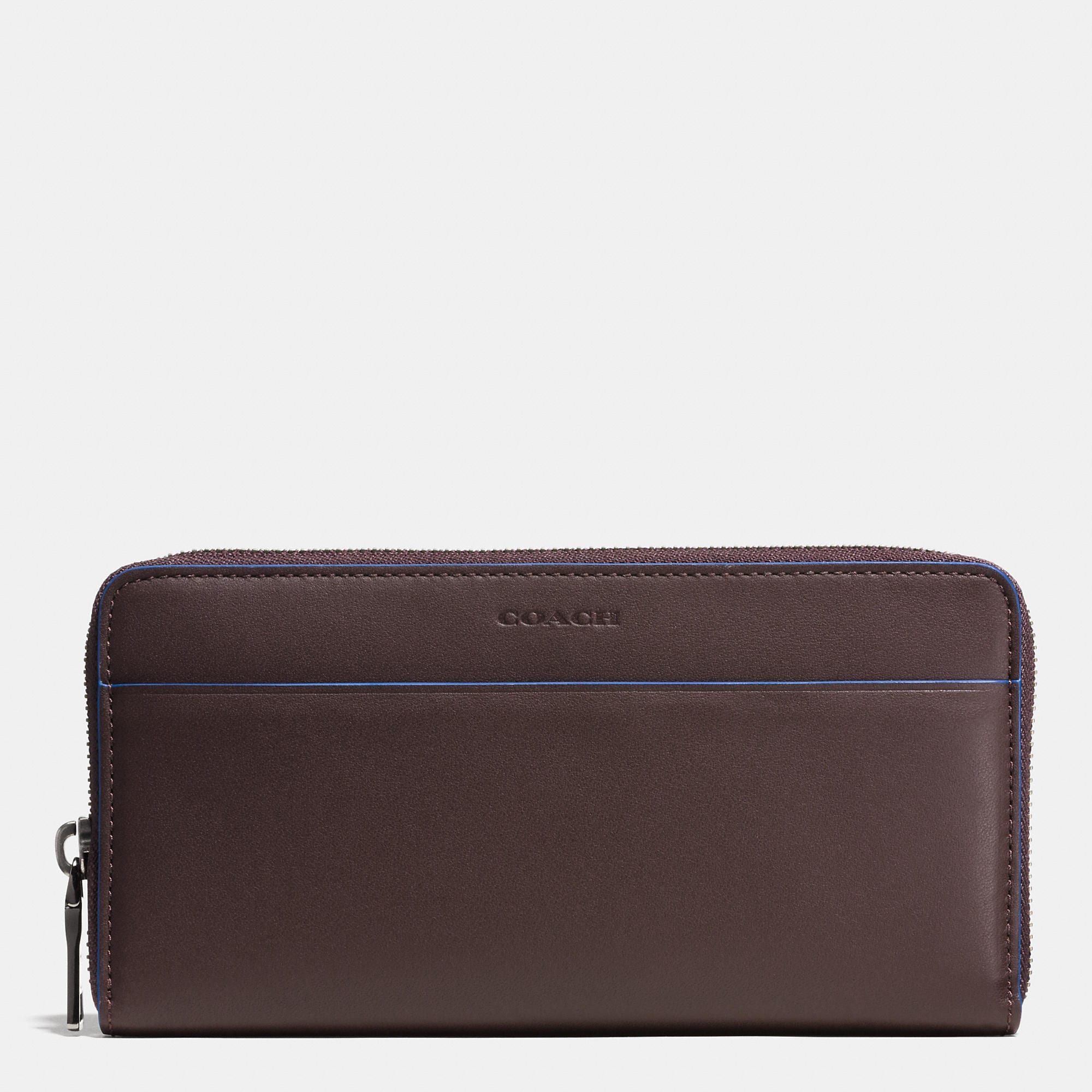 Coach 1941 Accordion Zip Wallet In Glovetanned Leather