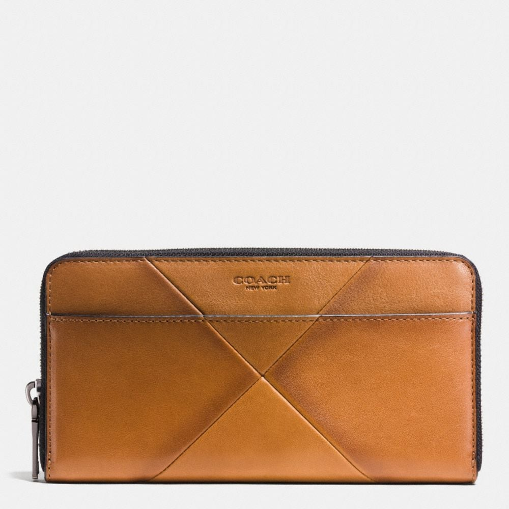 ACCORDION WALLET IN PATCHWORK SPORT CALF LEATHER
