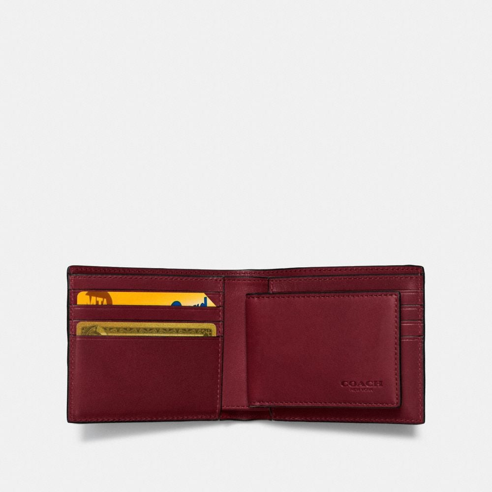 Coach 3-In-1 Wallet With Varsity Stripe Alternate View 1