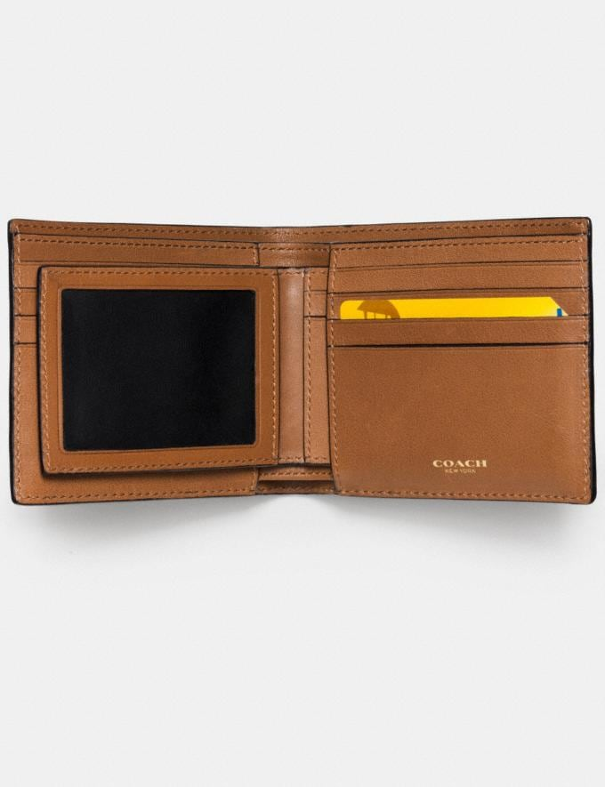 0ff89f5649 Mlb Compact Id Wallet In Sport Calf Leather
