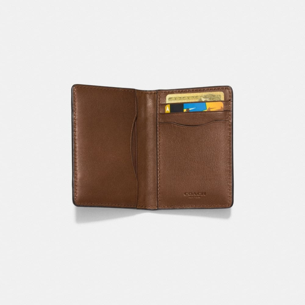 Coach Card Wallet in Patchwork Leather Alternate View 1