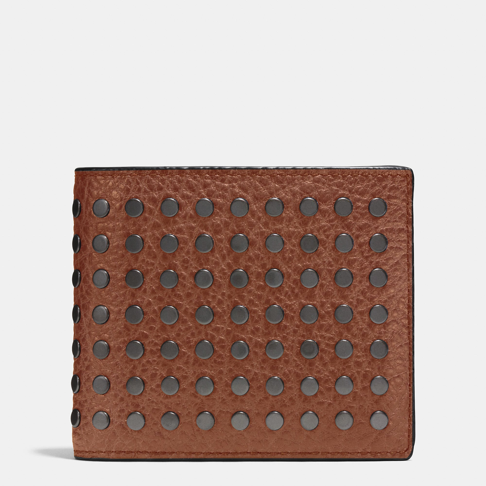 Coach Studs 3-In-1 Wallet In Buffalo Leather
