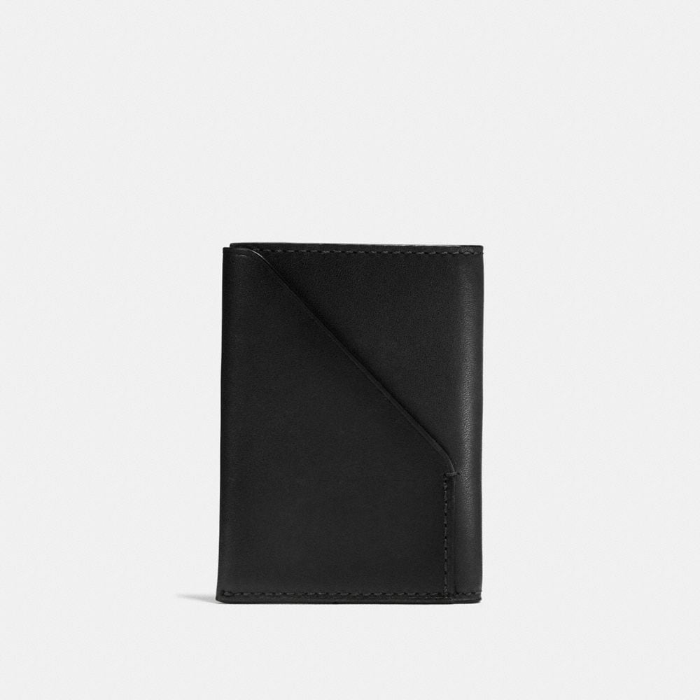 SLIM CARD WALLET IN SPORT CALF LEATHER - Autres affichages A1
