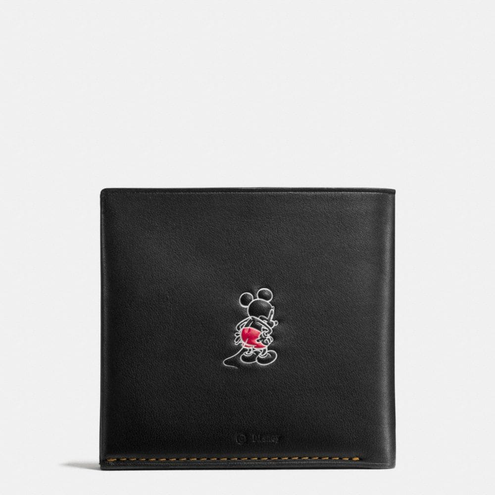 Mickey Double Billfold Wallet in Glovetanned Leather - Alternate View A1
