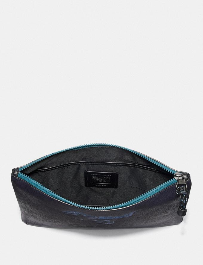 Coach Pouch 30 With Rexy by Zhu Jingyi Ink 30% off Select Full-Price Styles Alternate View 1