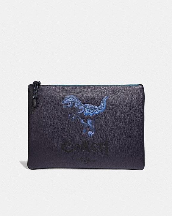 Coach POUCH 30 WITH REXY BY ZHU JINGYI