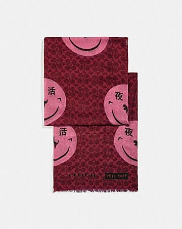 SIGNATURE SCARF WITH REXY BY YETI OUT