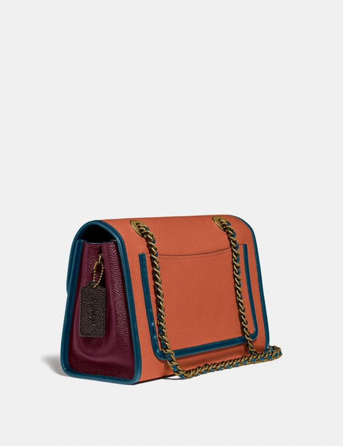 Coach Parker in Blockfarben Vintage Malvenfarben Multi/Messinh Cyber Monday Sale: Nur Online Taschen Alternative Ansicht 1