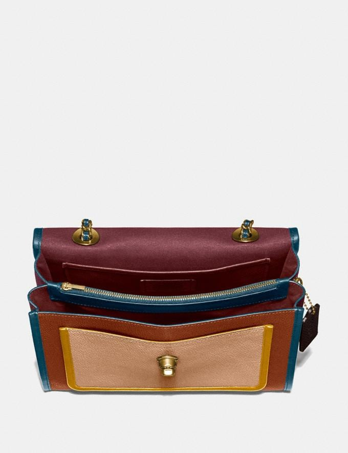 Coach Parker in Blockfarben Vintage Malvenfarben Multi/Messinh Cyber Monday Sale: Nur Online Taschen Alternative Ansicht 2