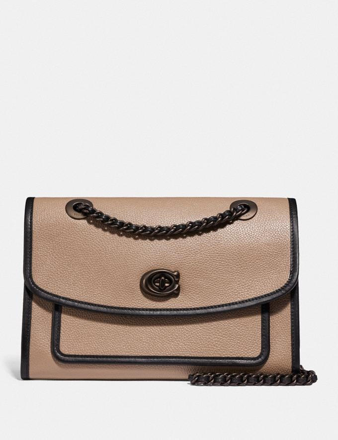 Coach Parker B4/Oxblood Women Bags Shoulder Bags