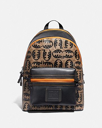 ACADEMY BACKPACK IN SIGNATURE CANVAS WITH REXY BY GUANG YU ...