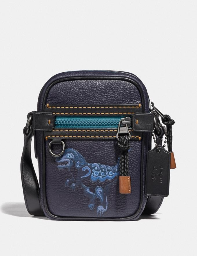 Coach Dylan 10 With Rexy by Zhu Jingyi Ink/Black Copper Men Edits Travel