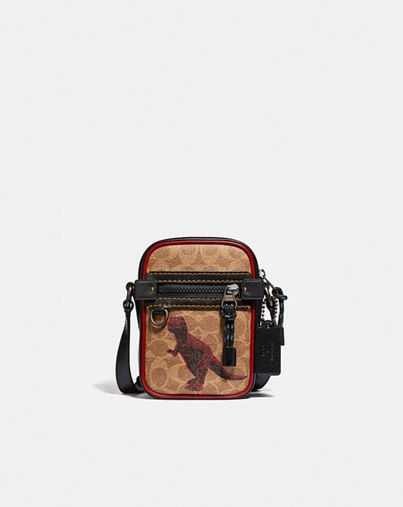 Coach DYLAN 10 IN SIGNATURE CANVAS WITH REXY BY SUI JIANGUO