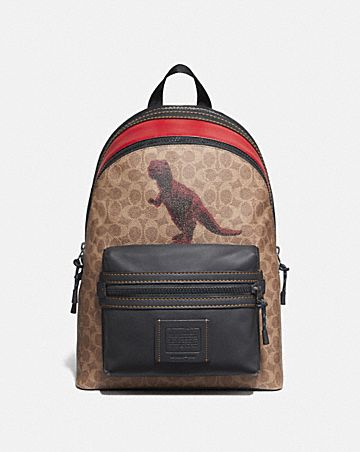 e38b52b36a5b ACADEMY BACKPACK IN SIGNATURE CANVAS WITH REXY BY SUI JIANGUO ...